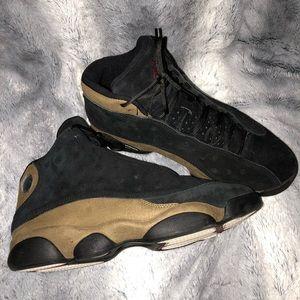 Jordan Shoes - Air JordanRetro 13 olive
